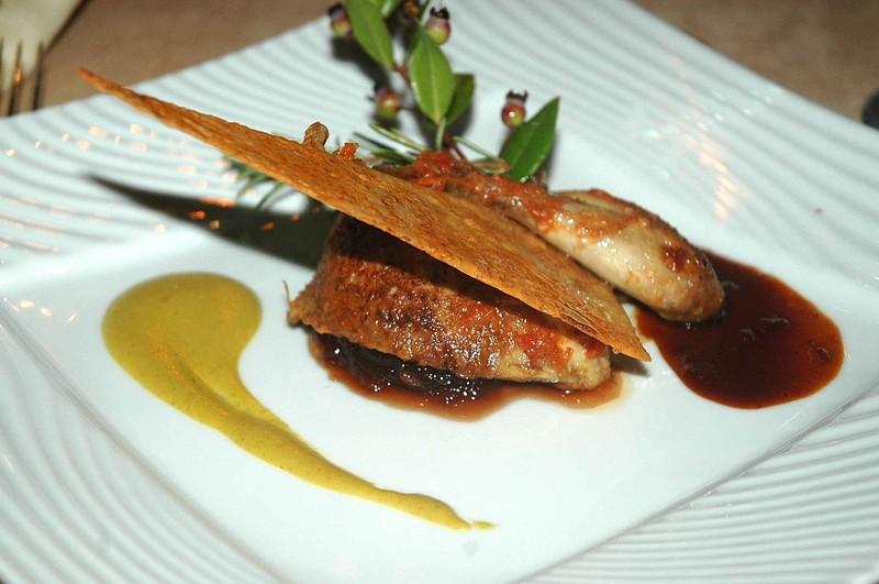 Escales gastronomiques en corse d ner au restaurant le belv d re porto vecchio - Recette plat gastronomique ...