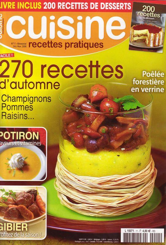 Magazine cuisine recettes pratiques - Magazine recette de cuisine ...