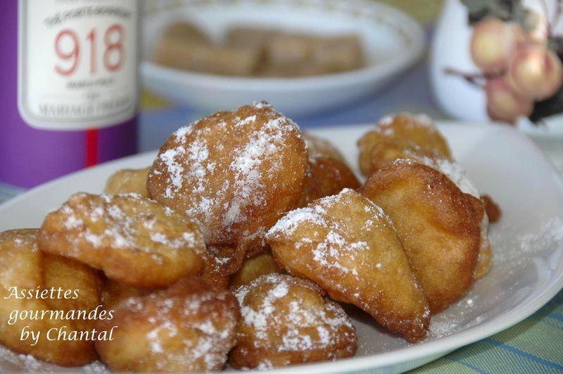 Beignets recette p te beignet - Recette pate a beignet sucre ...