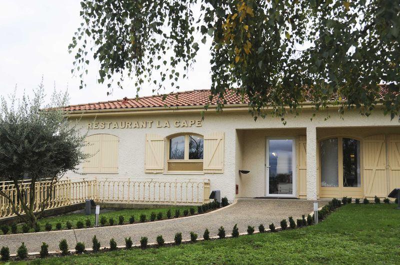 meilleur pas cher large choix de designs comment trouver Déjeuner à La Cape à Cenon (1 étoile Michelin) - Assiettes ...