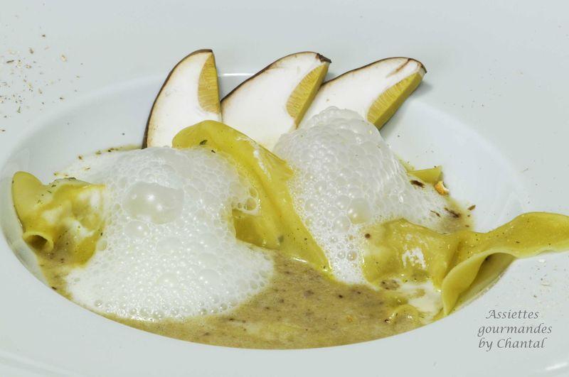 Ravioles de c pes en bouillon de c pes et cume de cardamome - Canneles bordelais recette originale ...