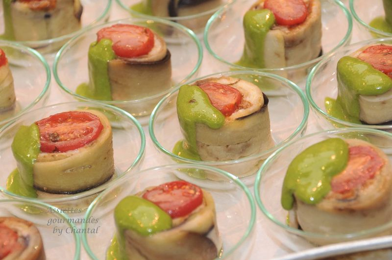 Cake Mozarella Tomates Cuisine Gourmande