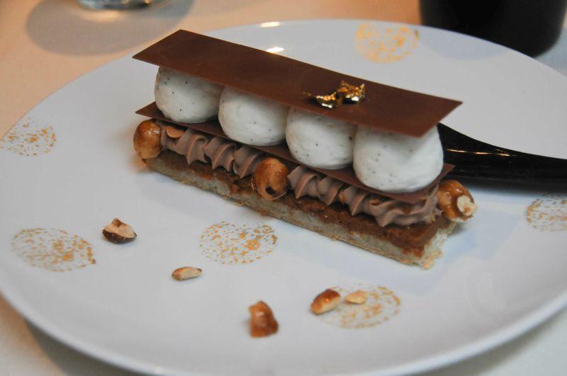 Restaurant Paris Dessert Chocolat Or