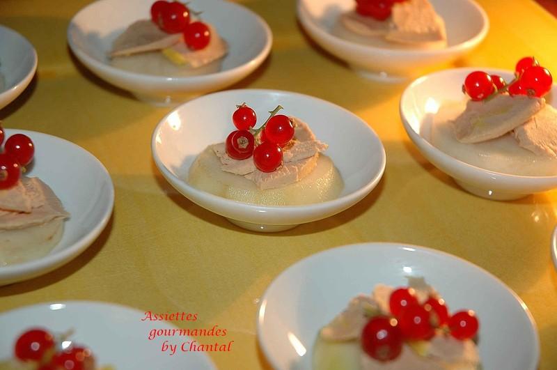 Relativ Toast poire foie gras aux groseilles | IS83