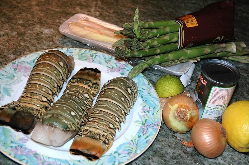 Recette langouste for Cuisine queue de langouste
