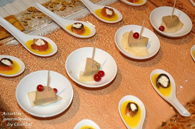 Id es pour ap ritif d natoire - Decoration assiette de foie gras photo ...