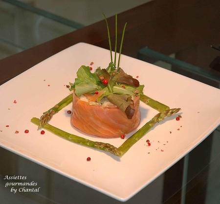 Taboul de chou fleur au saumon fum et asperges for Decoration a l assiette