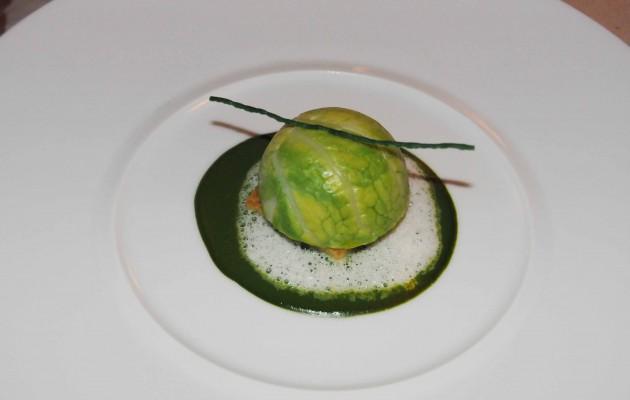 saint jacques et foie gras