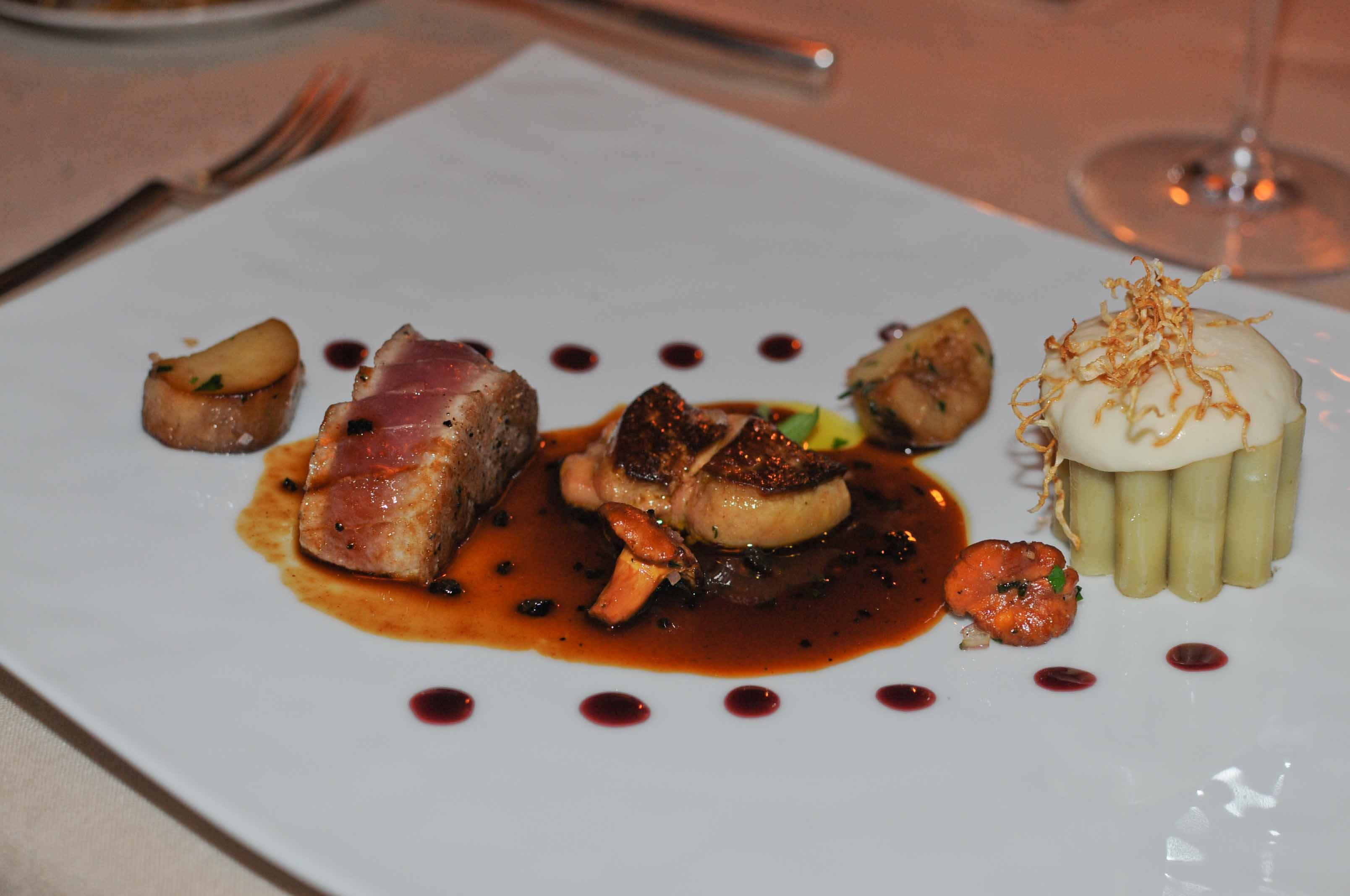 Thon Rouge Et Foie Gras Poêlé - Cuisiner du thon rouge