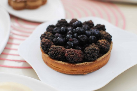 tarte aux fruits noirs