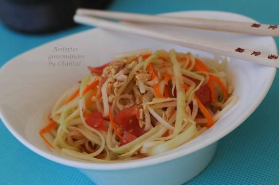 Salade de papaye verte cuisine tha e - Accompagnement salade verte ...