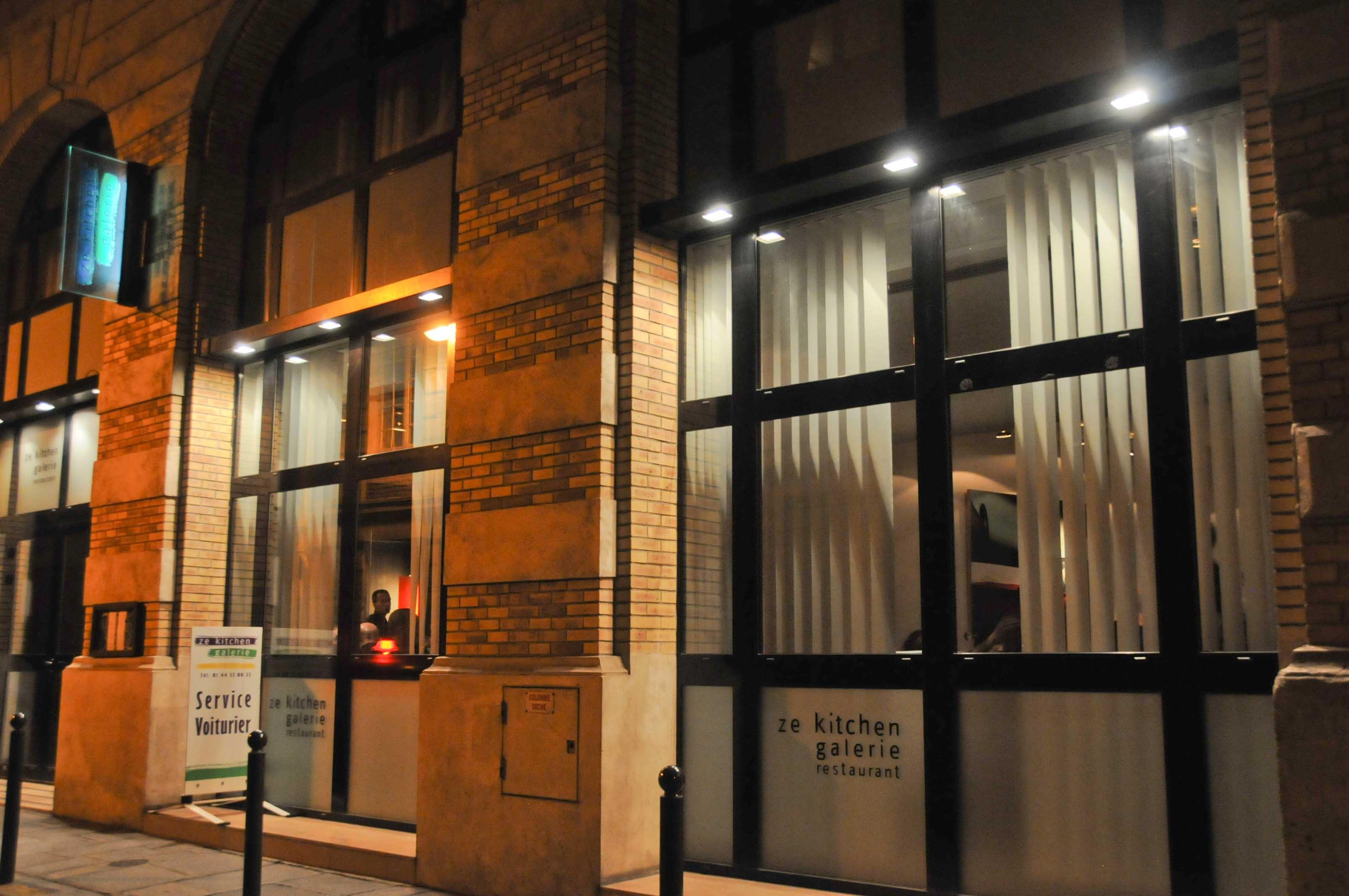 Ze kitchen galerie restaurant de william ledeuil paris for Ze kitchen galerie paris france
