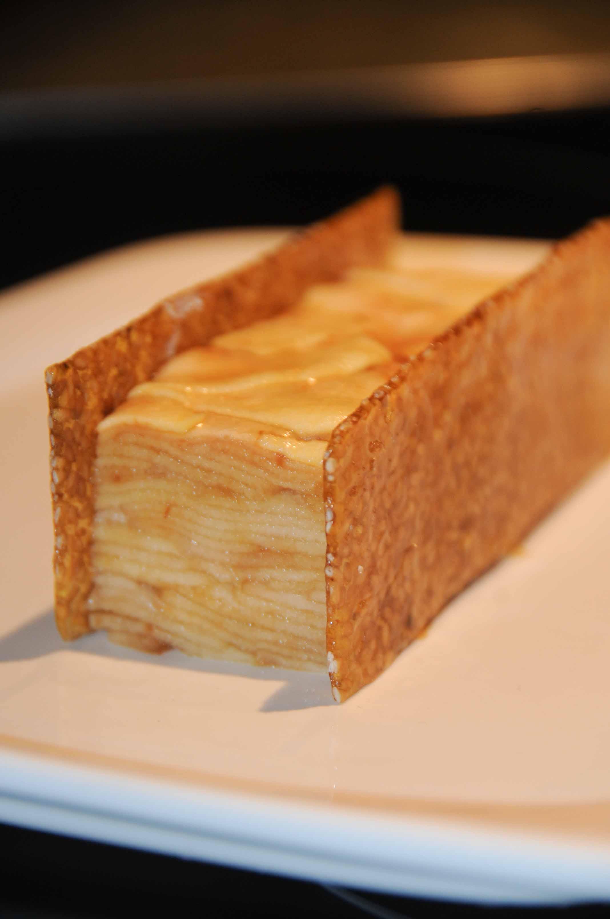 gâteau pudding pommes