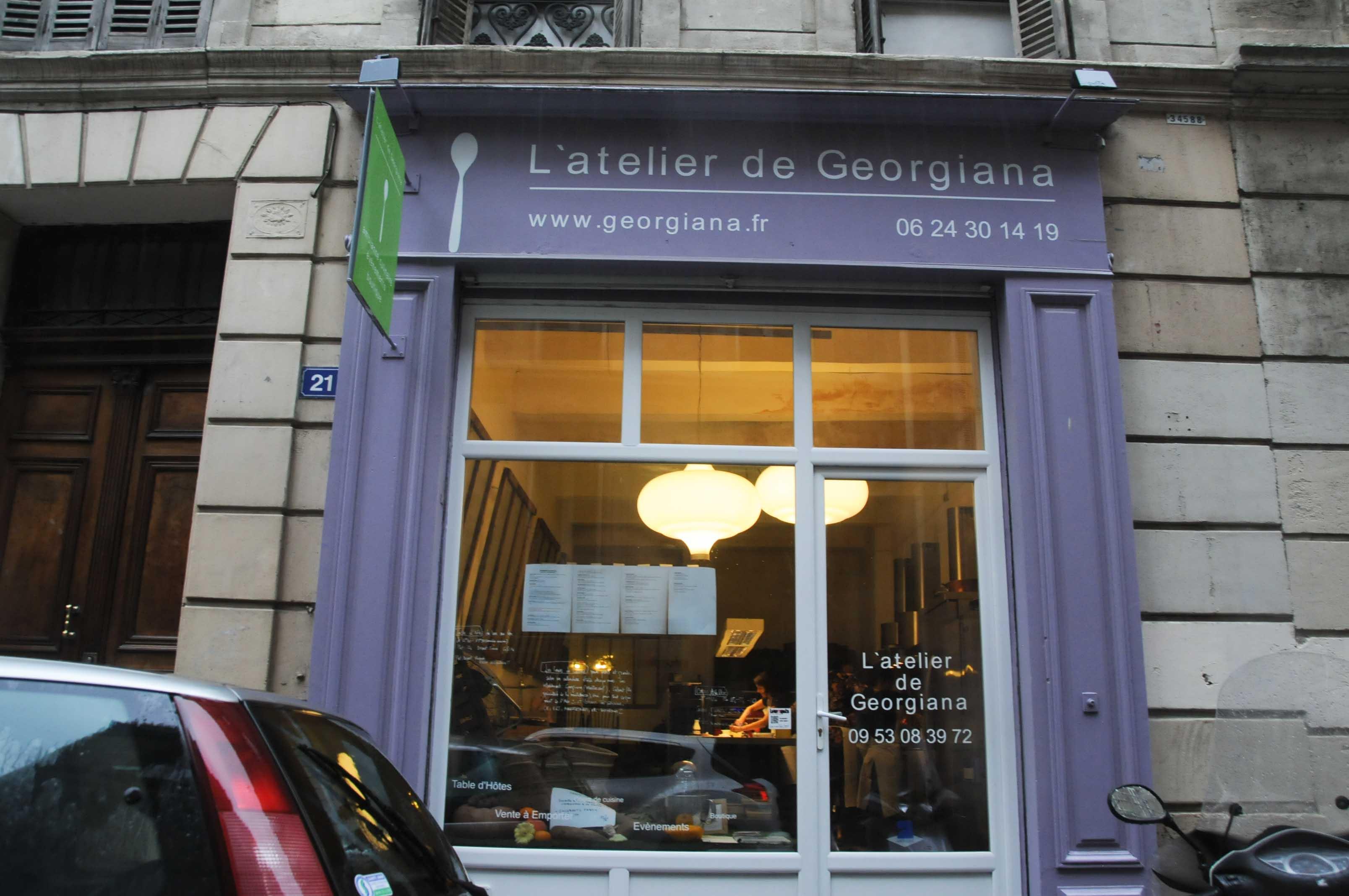 David toutain l 39 atelier de georgiana marseille - Atelier de cuisine marseille ...