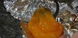 peler poivron jaune