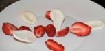 fraises et meringue