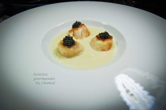 saint jacques caviar