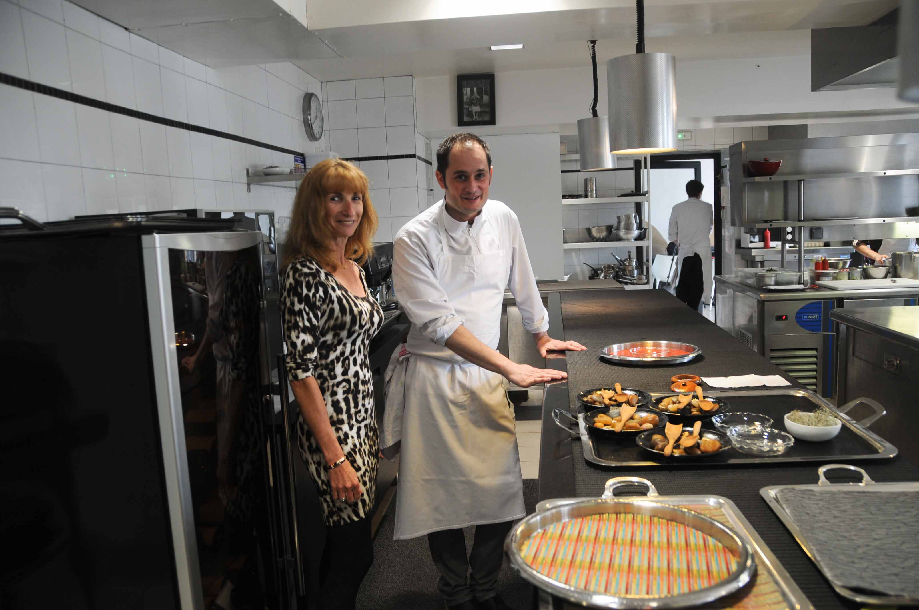 Restaurant la marine alexandre couillon noirmoutier for Petite cuisine restaurant
