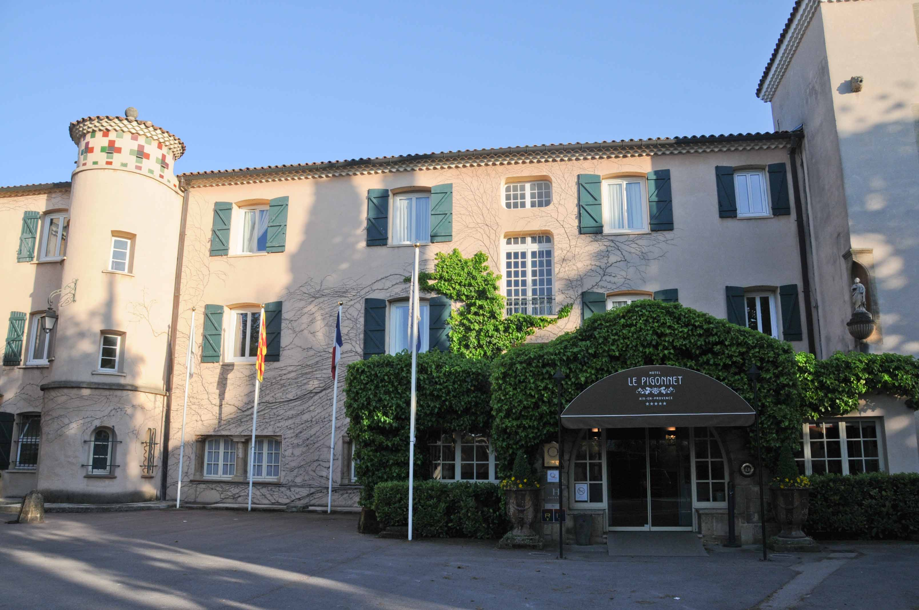 Restaurant le pigonnet mickael f val for Hotels 2 etoiles aix en provence