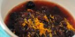 Confiture cerises amarena