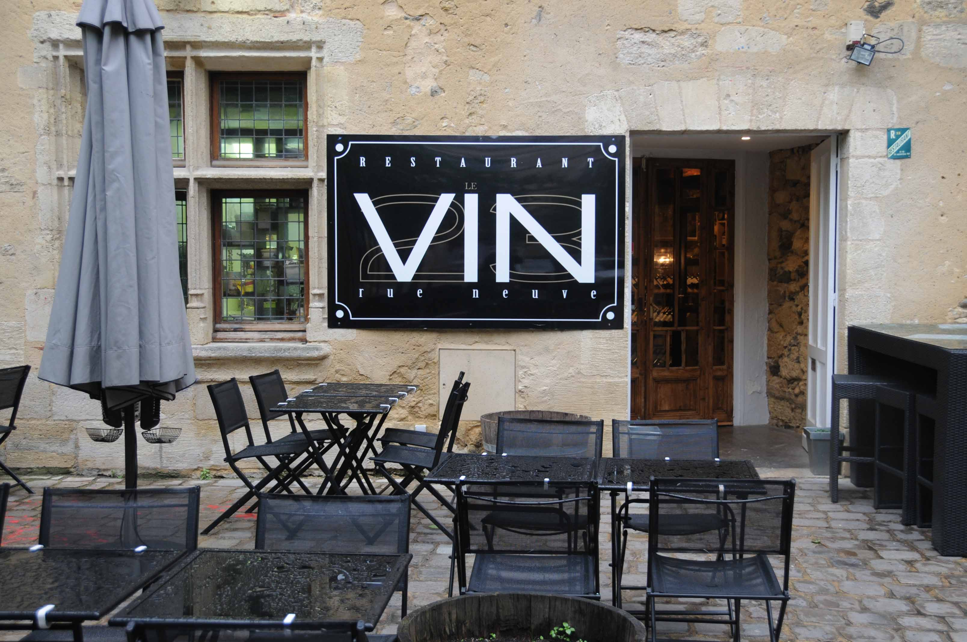 photo restaurant le vin a bordeaux