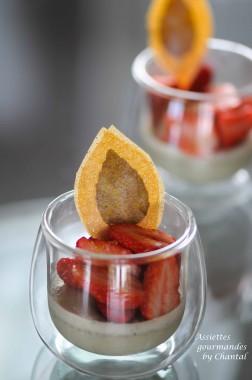 panna cotta basilic fraise 4