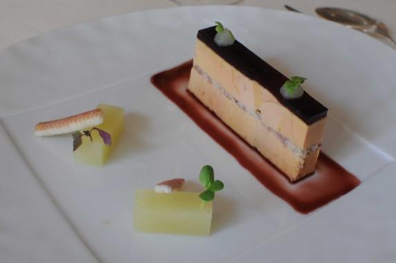 Variation de chou-fleur aux huîtres et caviar
