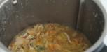 recette Bisque de crevettes au thermomix