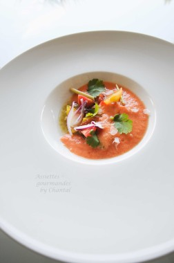 Gaspacho William Ledeuil 1