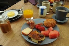 petit déjeuner La Mare aux oiseaux - restaurant