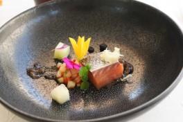 Restaurant Passions et Gourmandises, Saint-Benoit, Poitiers (16), saumon basse temperature