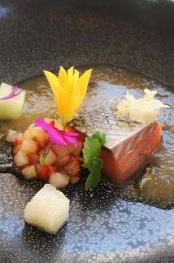 Restaurant Passions et Gourmandises, Saint-Benoit, Poitiers (19) - saumon basse temperature