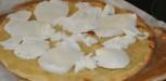 recette Pizza Mozzarella truffe