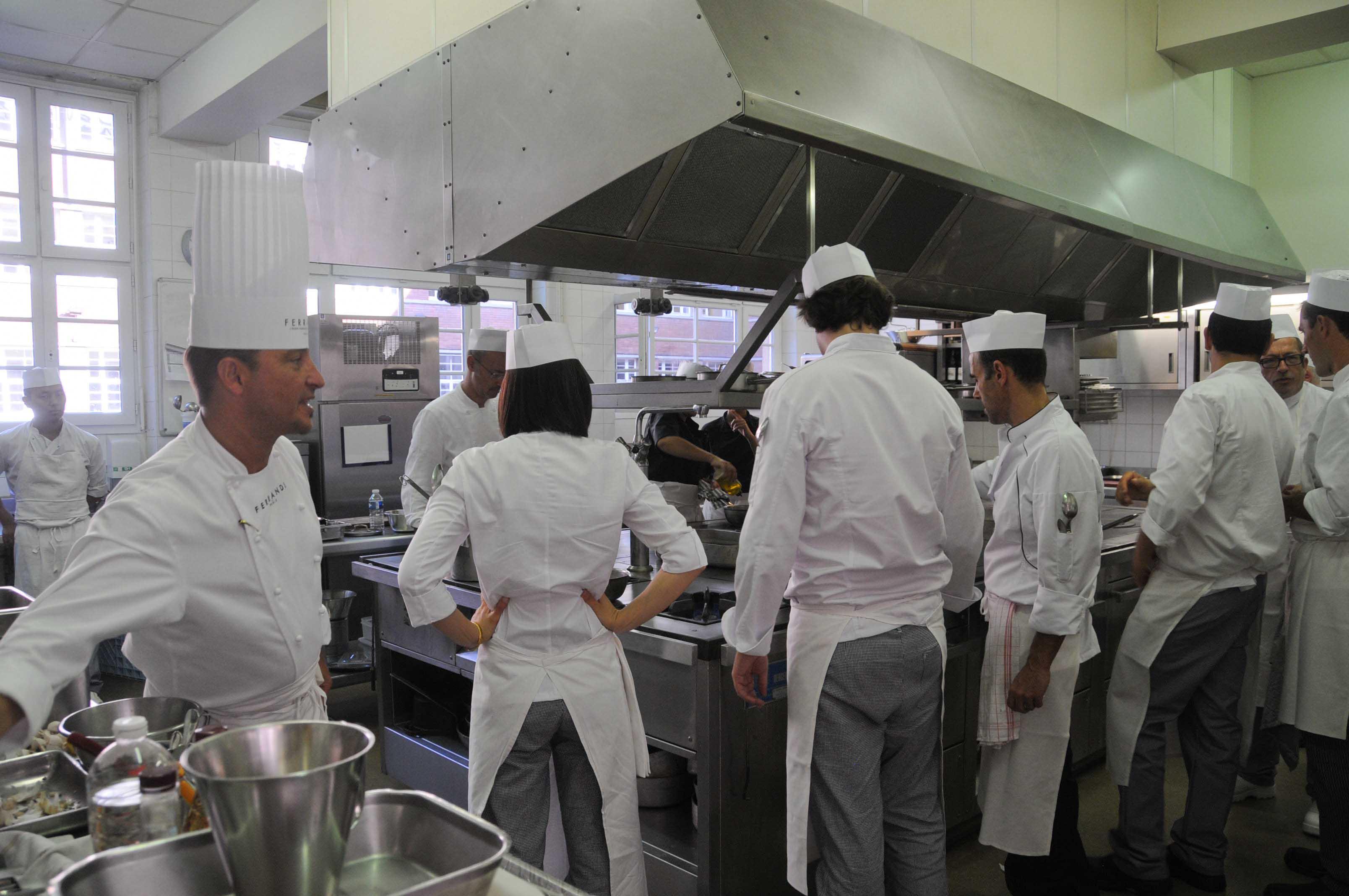 Ferrandi paris ecole fran aise de gastronomie - Cours de cuisine ferrandi ...