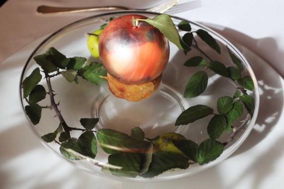 Gilles Goujon - auberge de Fontjoncouse dessert