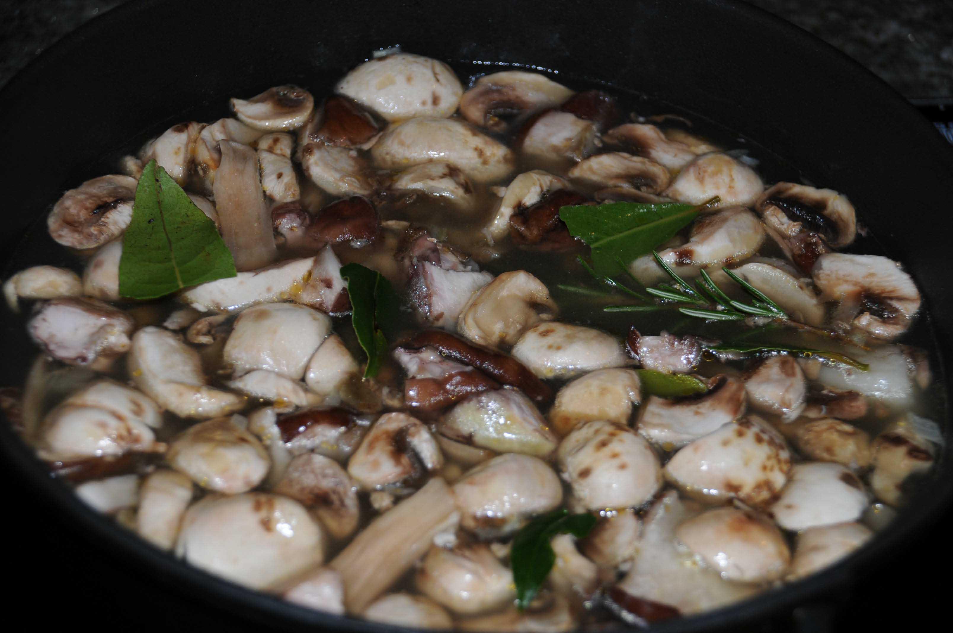 comment faire un bouillon de champignons