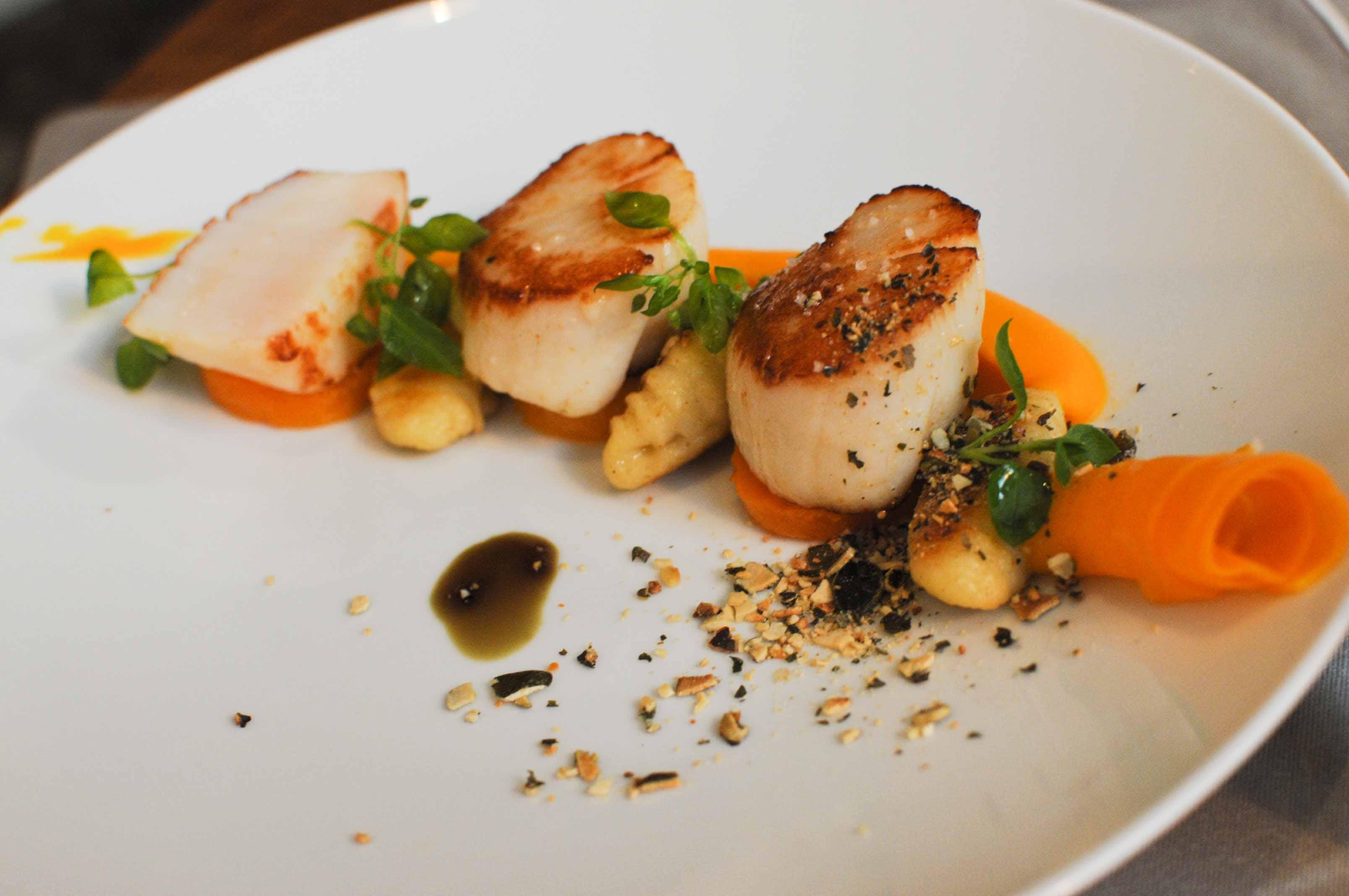 Thierry marx restaurant cam lia mandarin oriental paris for Entree gastronomique originale