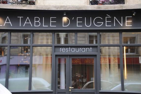 La Table D 39 Eug Ne Restaurant Paris Geoffroy Maillard