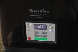 Saumon sous vide basse température