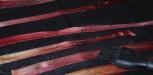 peau de rhubarbe