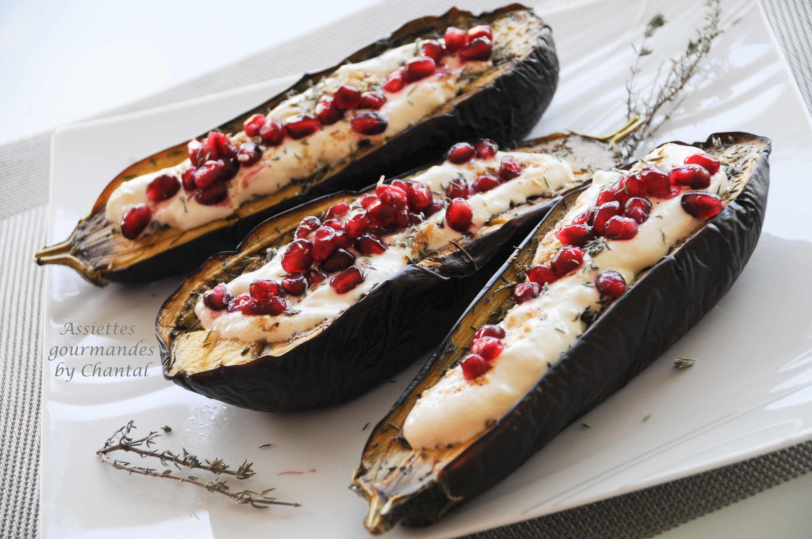 Aubergines au four recette de yotam ottolenghi - Cuisiner des aubergines au four ...