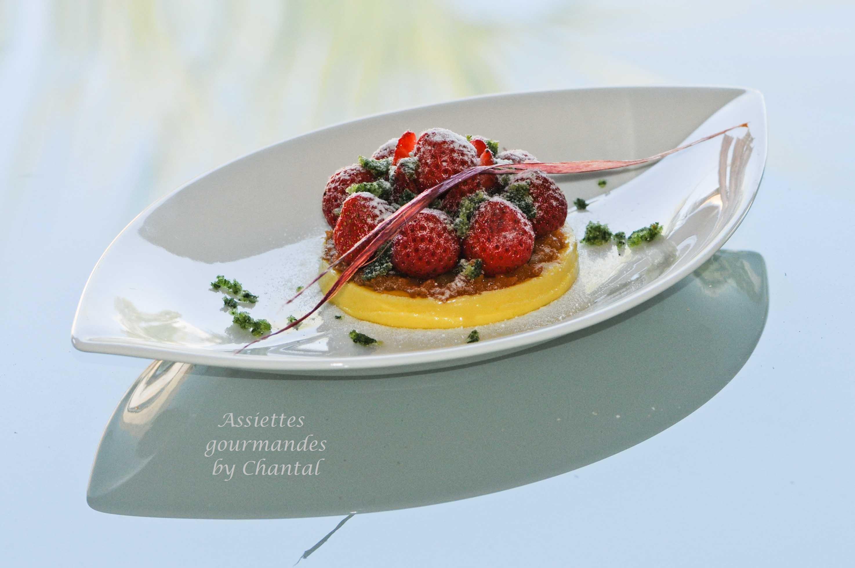 tarte aux fraises d structur e. Black Bedroom Furniture Sets. Home Design Ideas