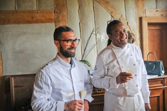 Franck Descas et Safre Yuma