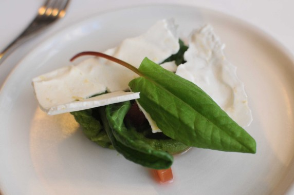dessert oseille rhubarbe - Le Pre