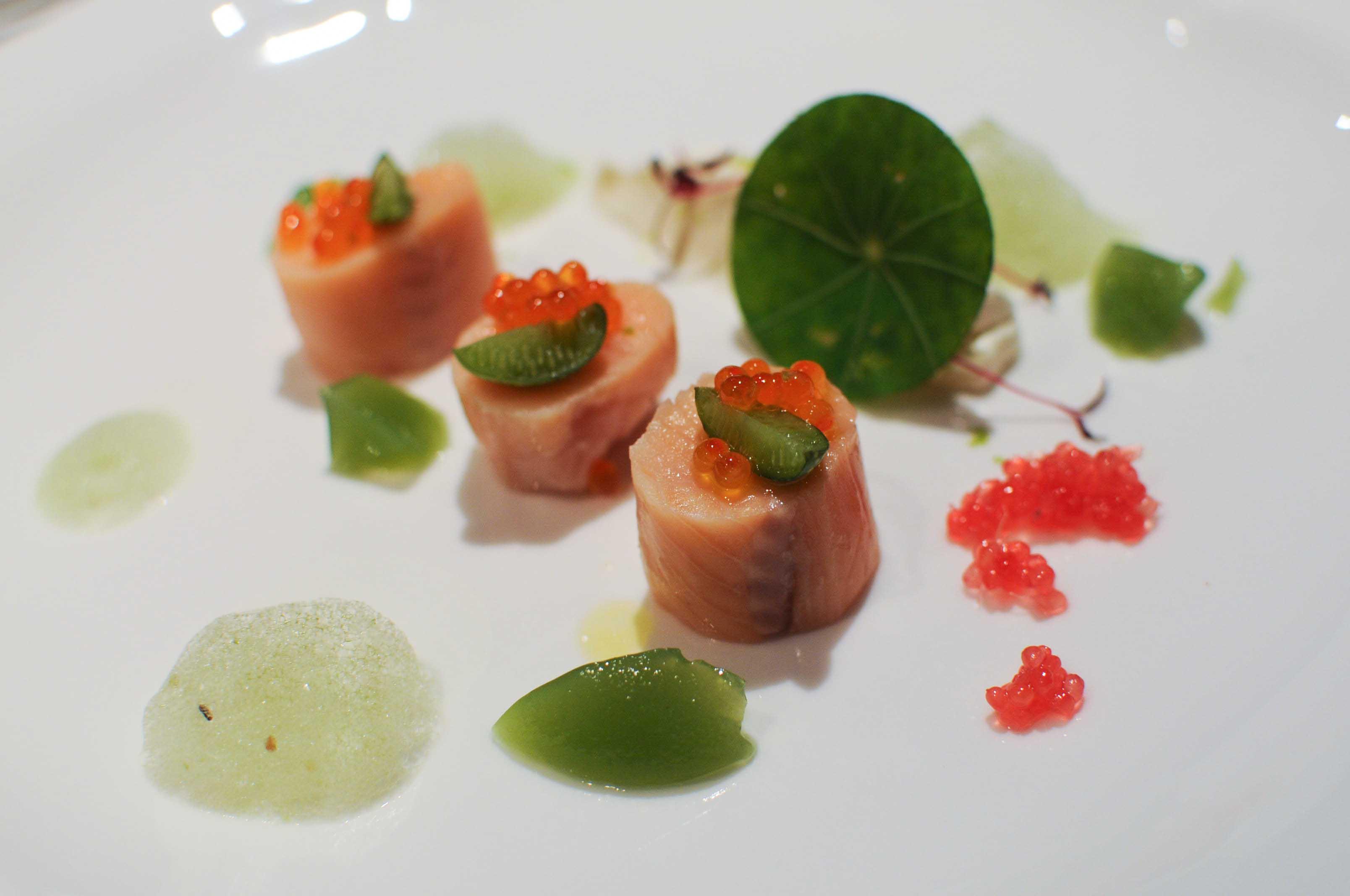 Truite fum e la table du gourmet riquewihr 14 - Restaurant riquewihr table du gourmet ...