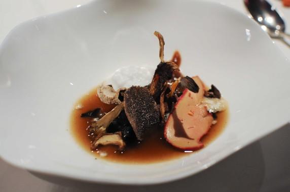 Foie gras cepes La Table du Gourmet Riquewihr (18)