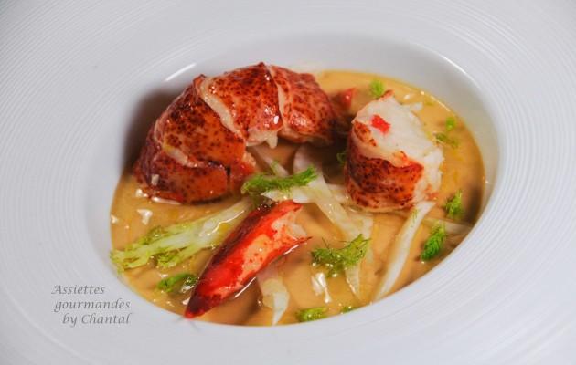 pannacotta bisque homard 1