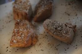Assaisonner le foie gras