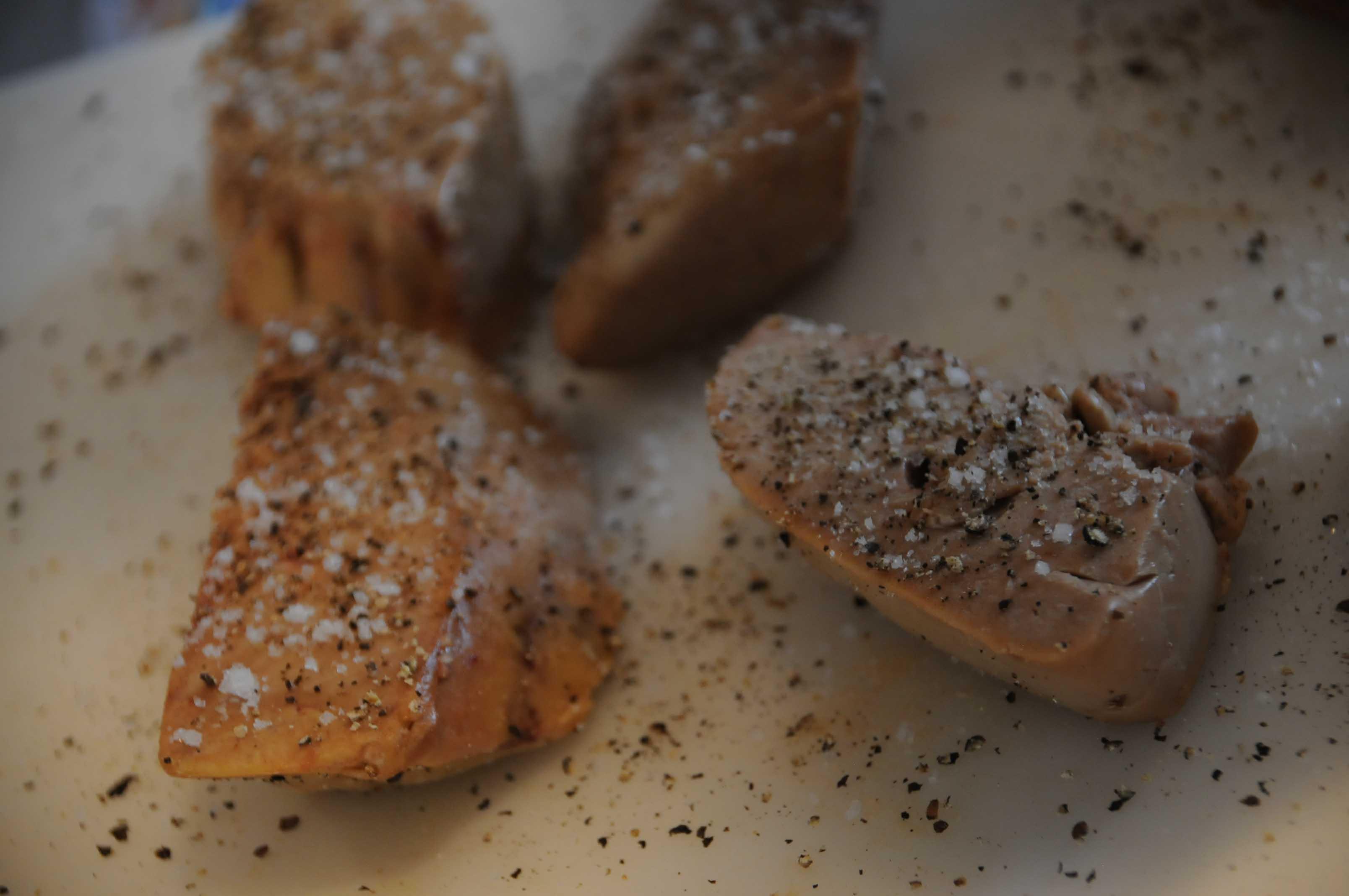 Dodine pigeon foie gras recette de chef cuisson basse temp rature - Temperature cuisson foie gras ...