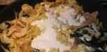 Recette Crumble poulet coco